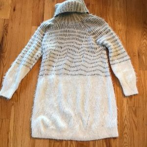 Anthropologie sleeping on snow s sweater dress